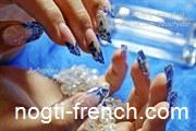 Наращивание ногтей в Энергодаре, Shellac, гель-лак.